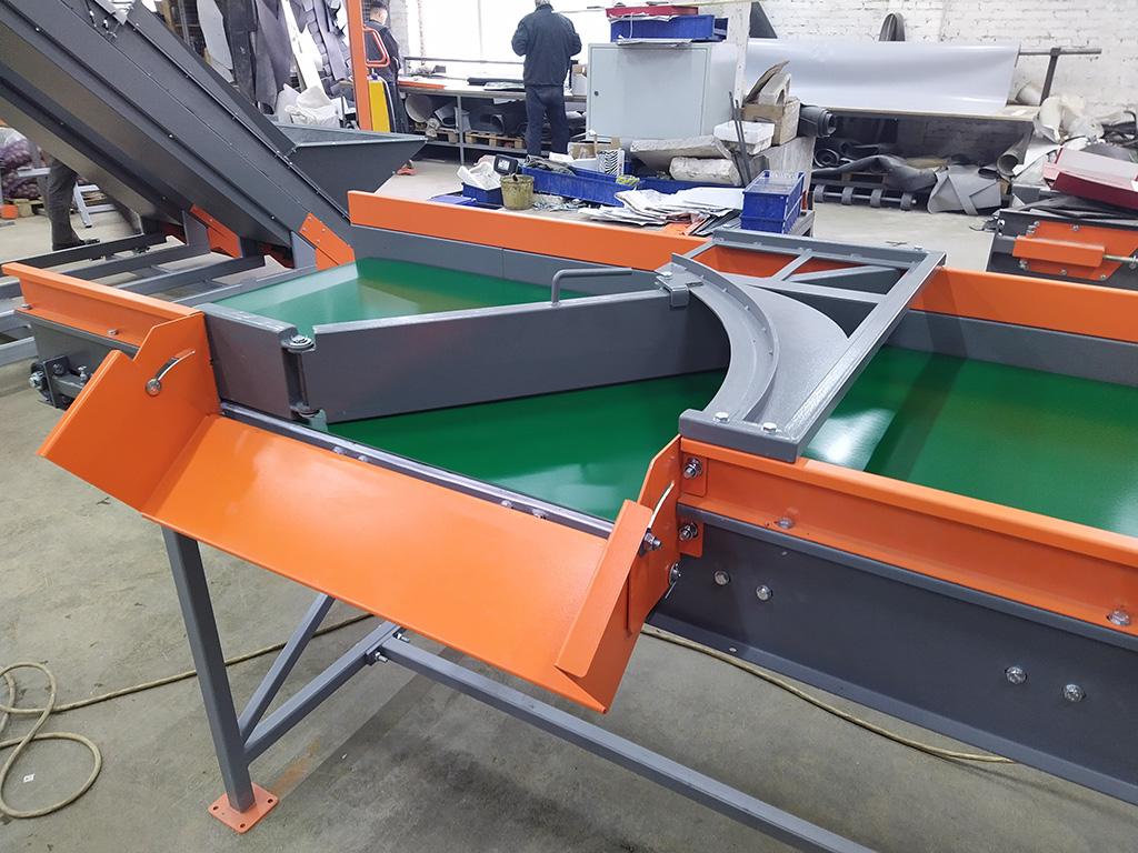 Технологические конвейеры для моркови