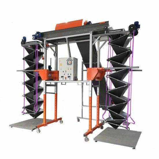 Универсальный наполнитель контейнеров и биг-бэгов весовой УЗ-2-В