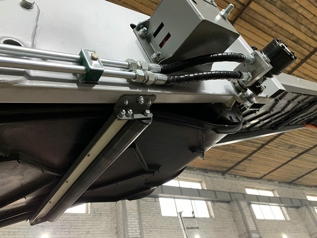 Буртоукладчик телескопический для свеклы