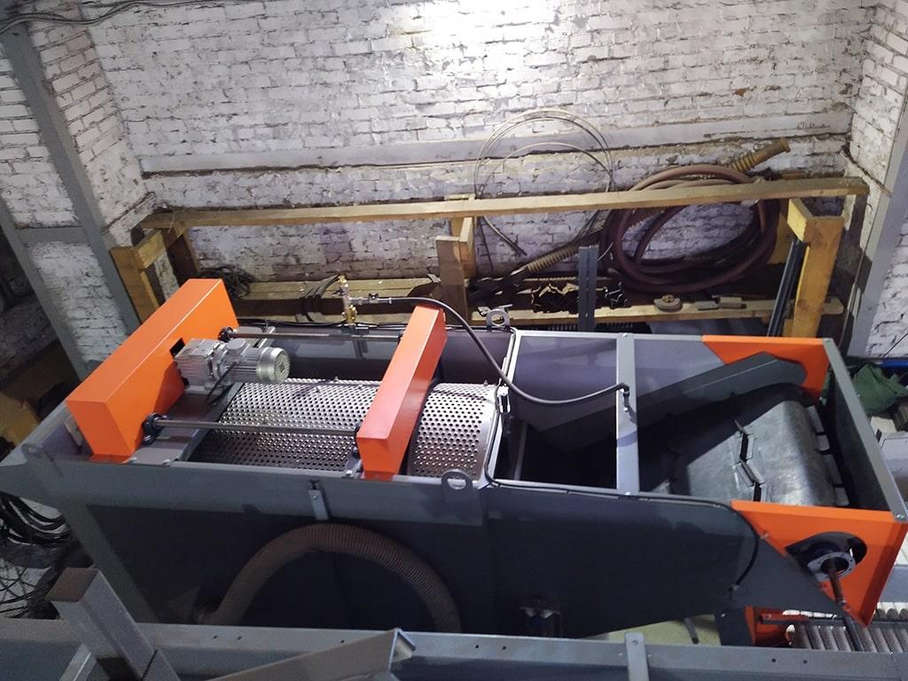 Оборудование для мойки свеклы