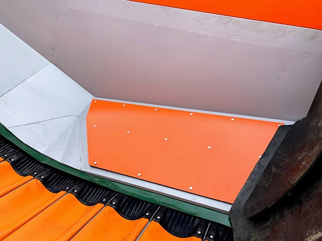 Приемный бункер для моркови