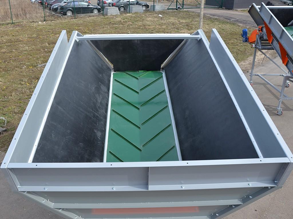 Приемный бункер для овощей