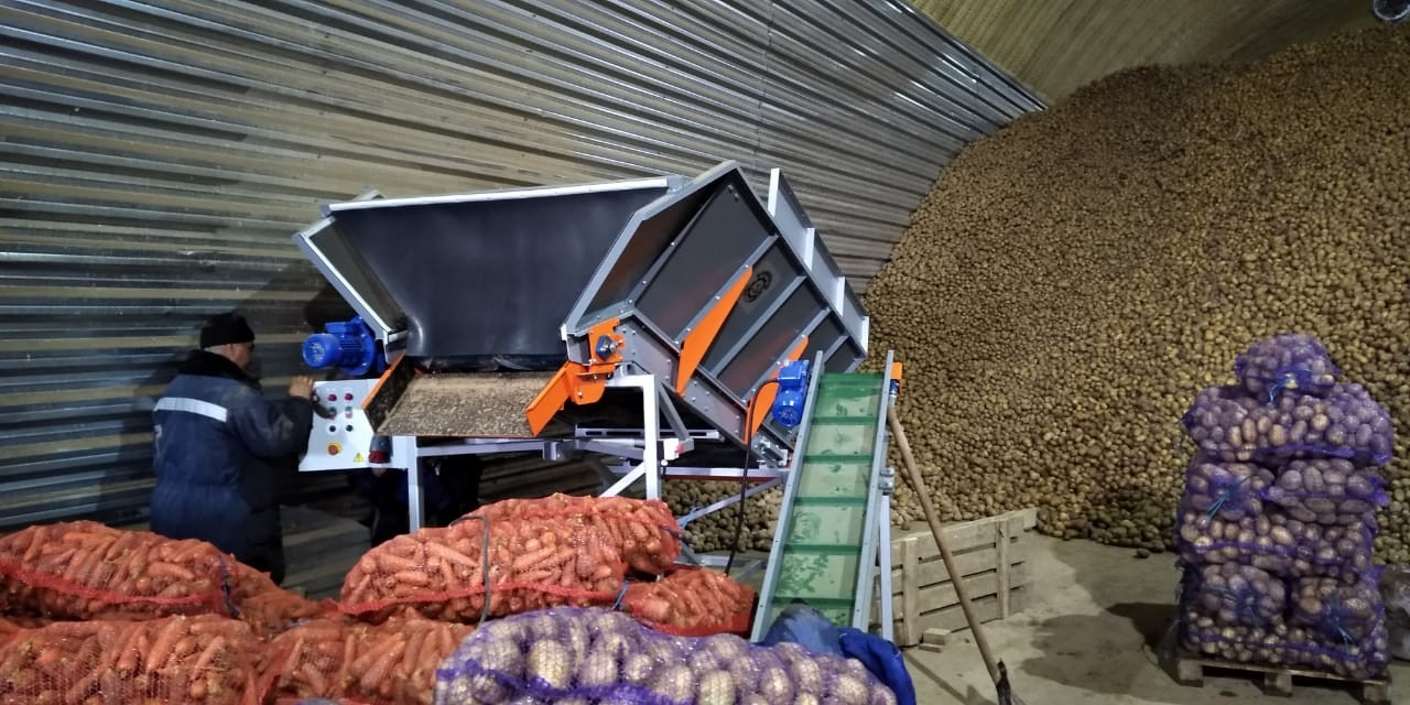 Бункер для моркови и картофеля