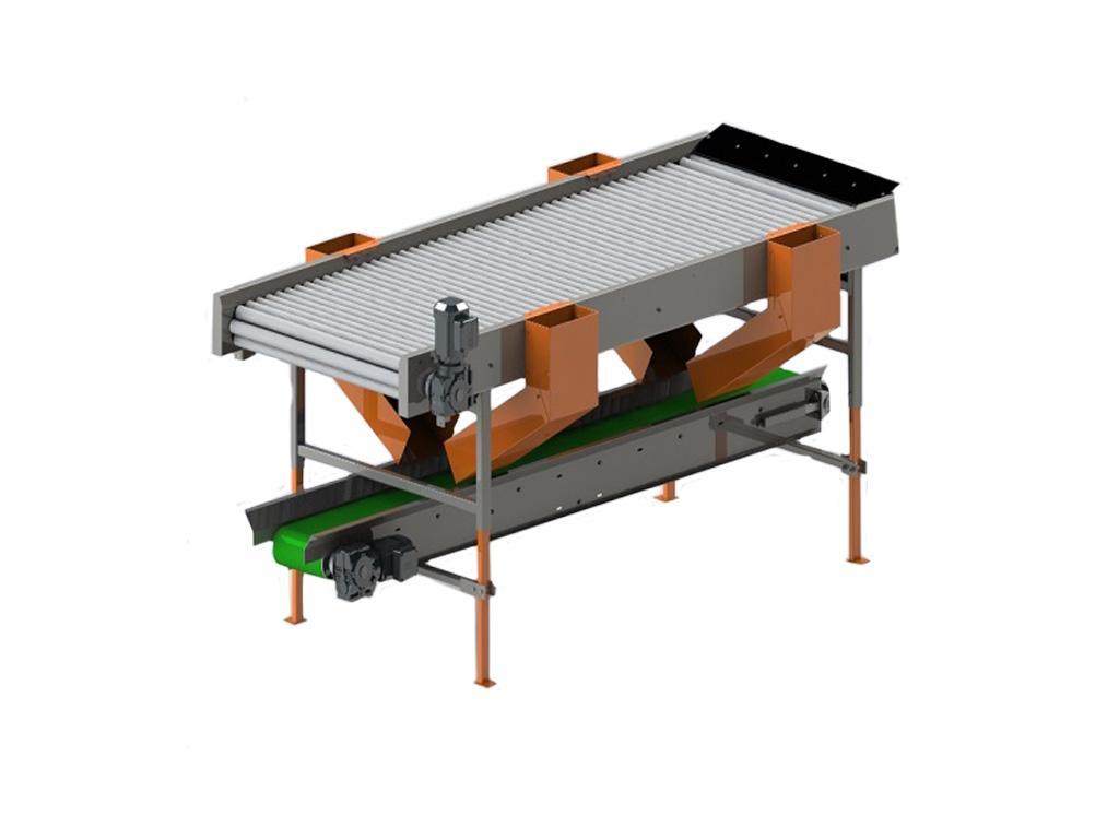 Инспекционный стол роликовый РИ-3Т-1-4