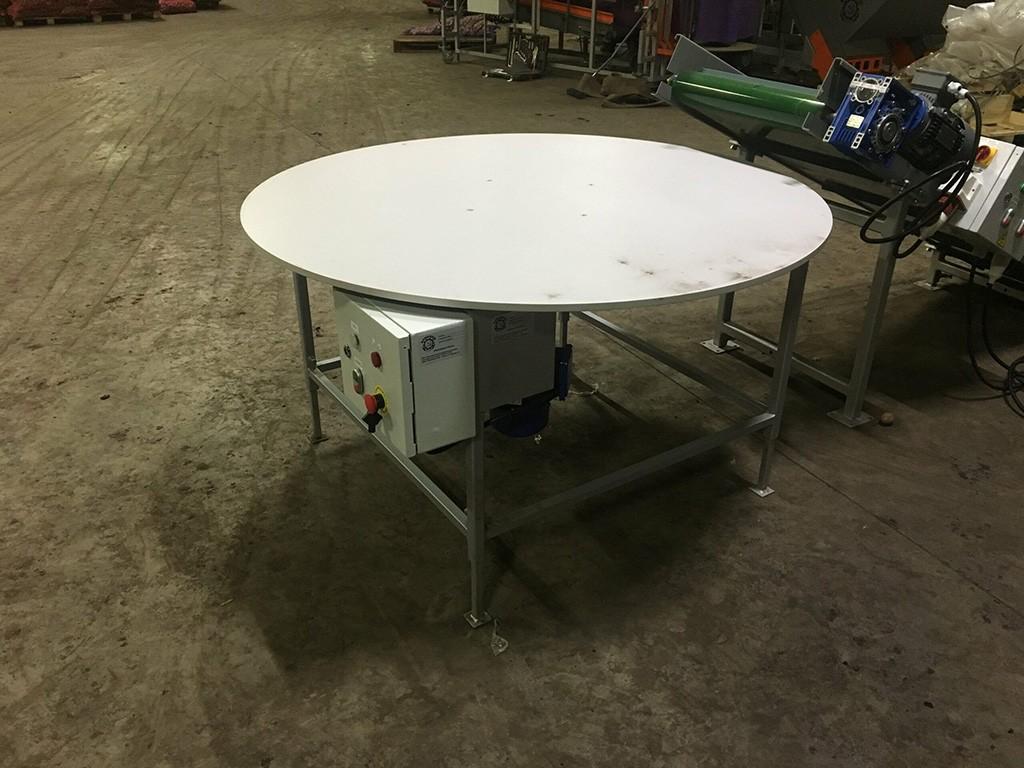 Поворотный стол для лука