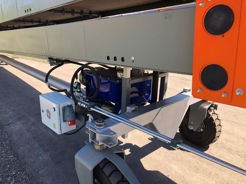Телескопический транспортер редуктор
