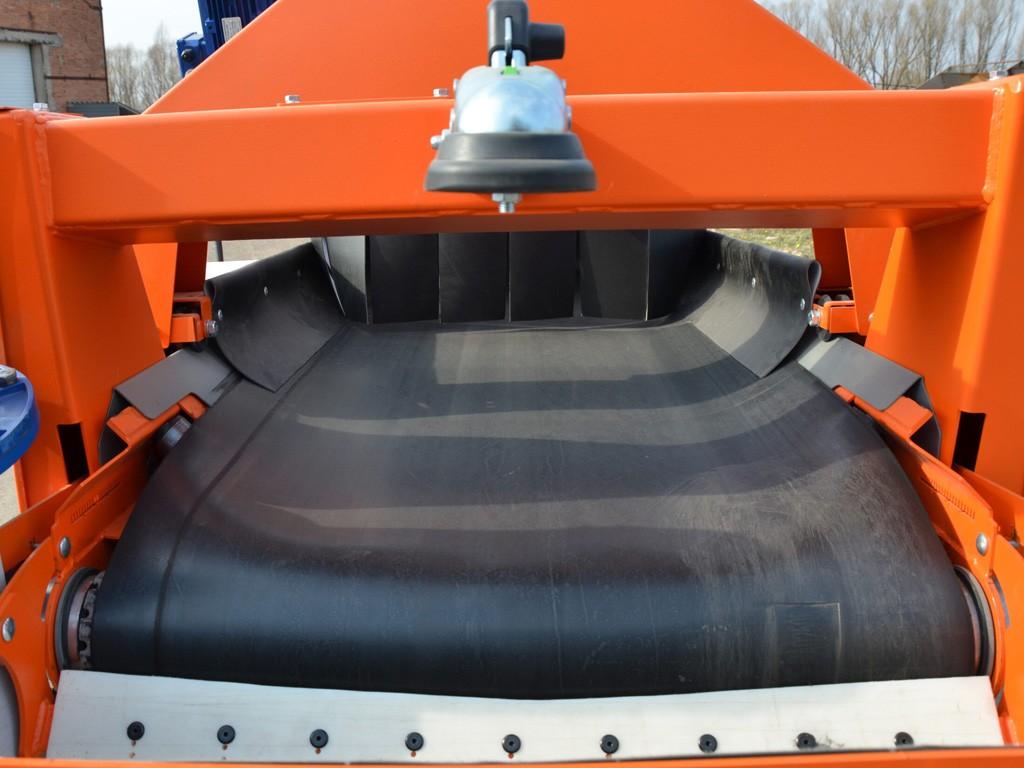 Телескопический ленточный конвейер для хранилища
