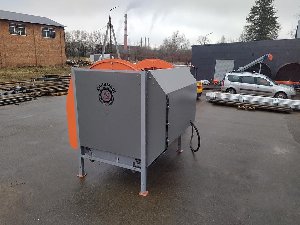 Машина мойки контейнеров для моркови